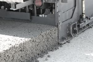 Roller compacted concrete