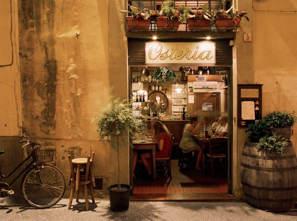 Osteria Vini e Vecchi Sapori in Florence, Italy