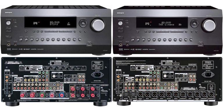 Integra DTR-50.7 (left) and DHC-60.7 (right)