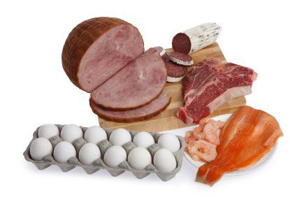 Foods high in protein are also high in niacin.