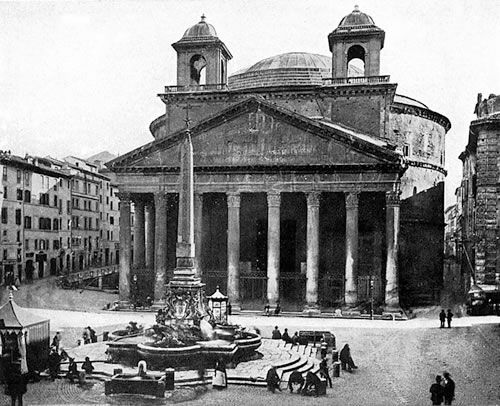 Roman Architecture Pantheon photographs of the pantheon in rome