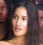 Q'Orianka Kilcher stars as Pocahontas in