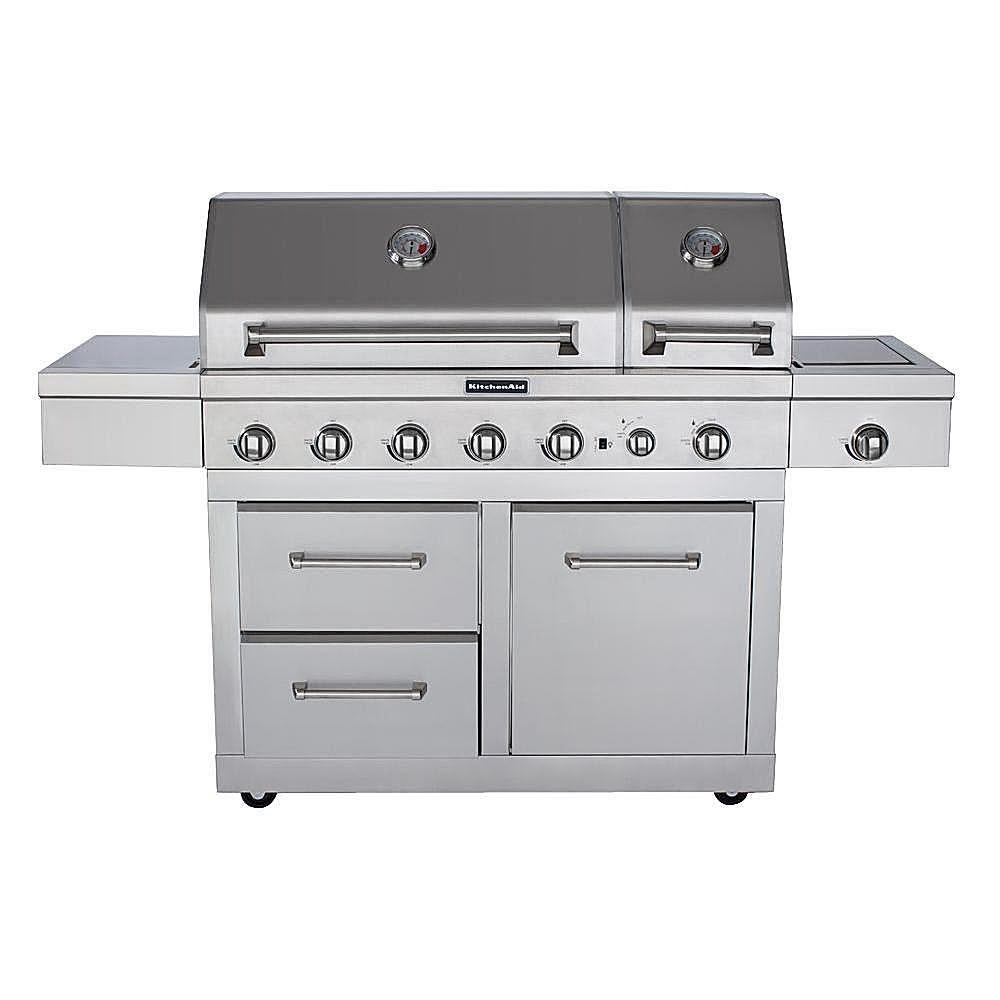 Master forge 5 burner island grill reviews - Kitchenaid 6 Burner Dual Chamber Gas Grill Model 720 0826 Bbq Grill Reviews