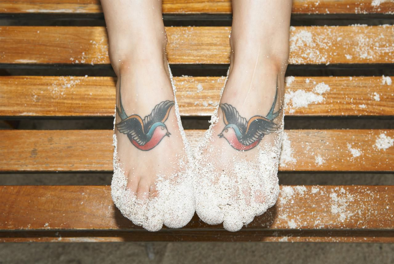 Foot tattoo aftercare instructions and tips for Foot tattoo aftercare