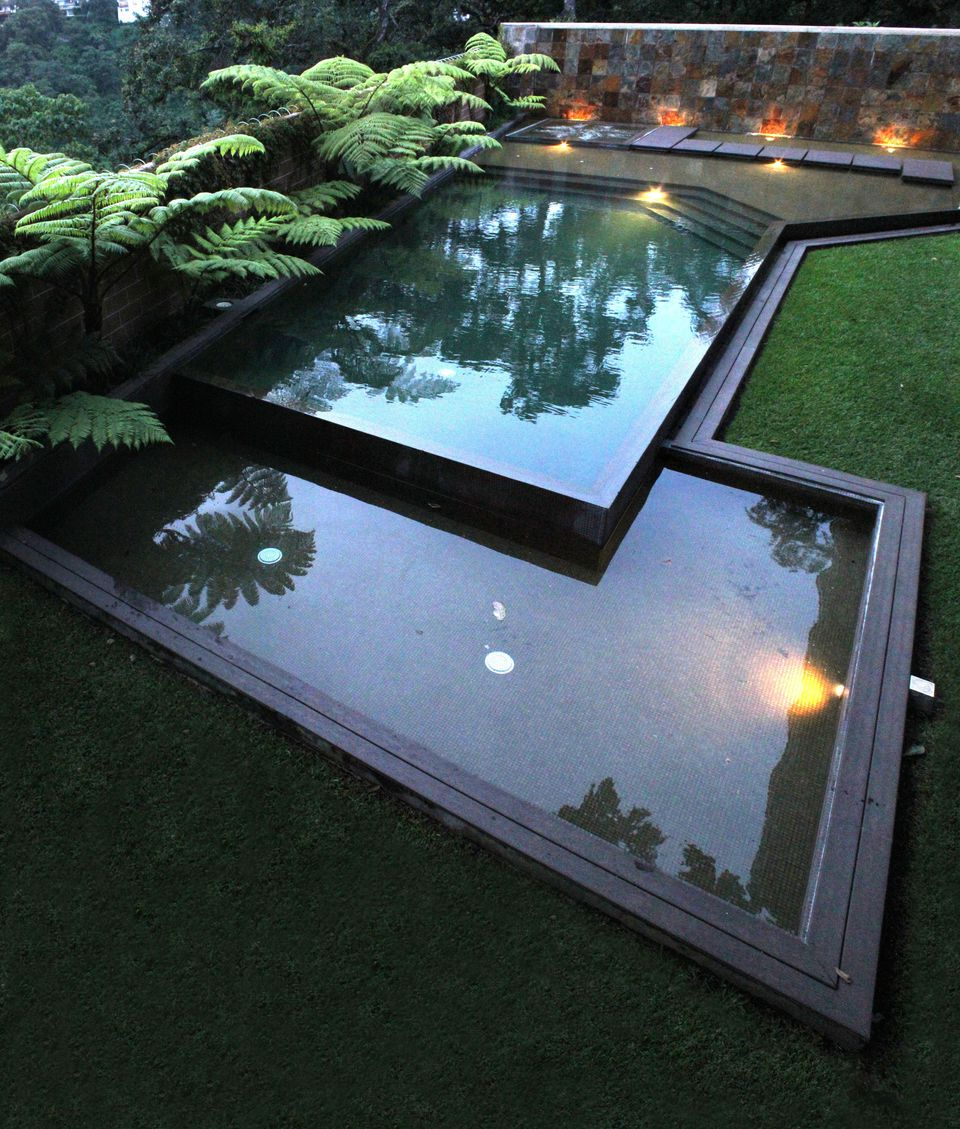 two level pool