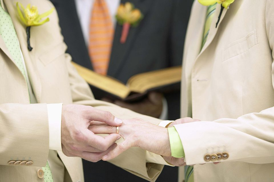 same-sex commitment ceremony