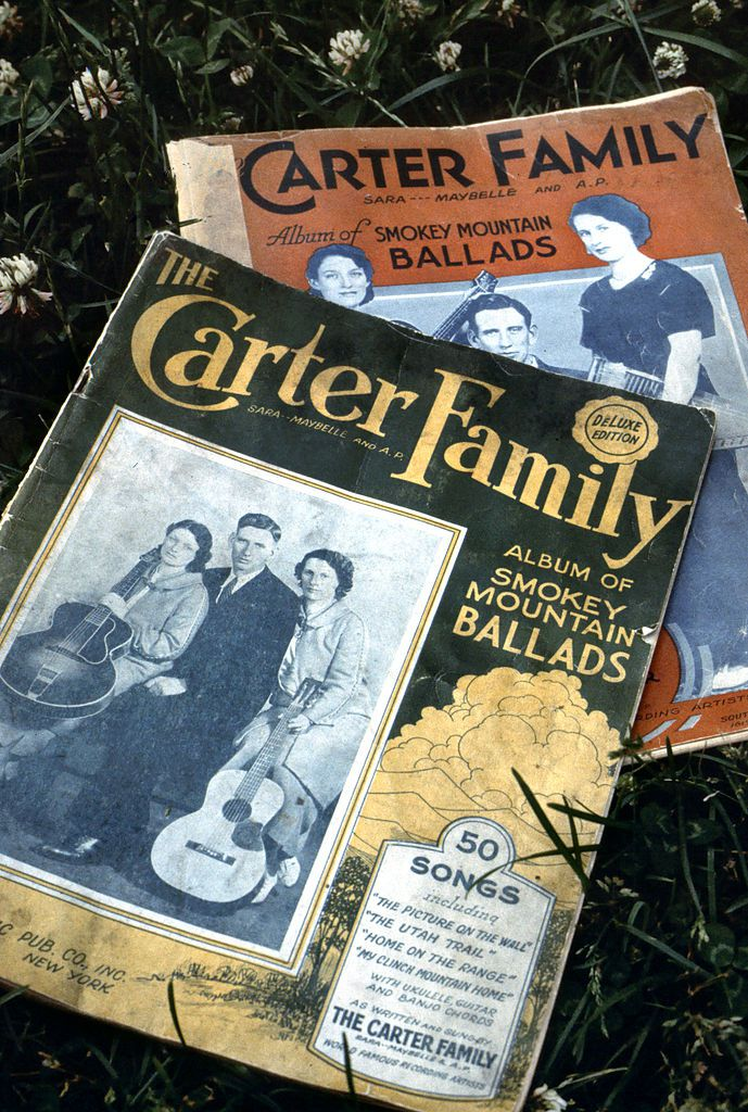 Copies of The Carter Family Album of Smokey Mountain Ballads