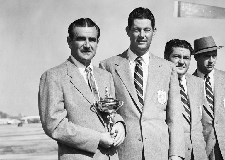 Lloyd Mangrum and Cary Middlecoff