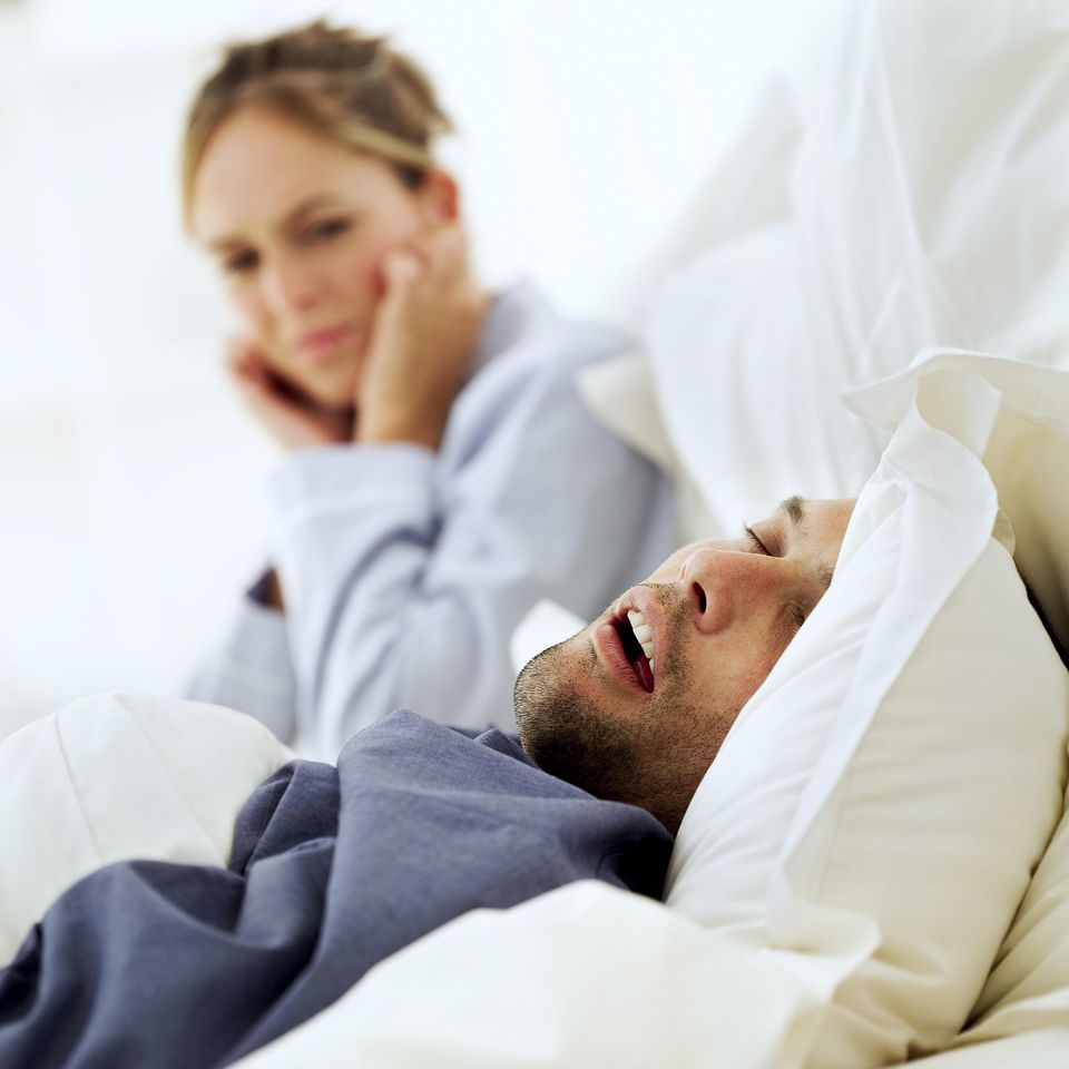 Don't lose sleep because of a snoring partner.