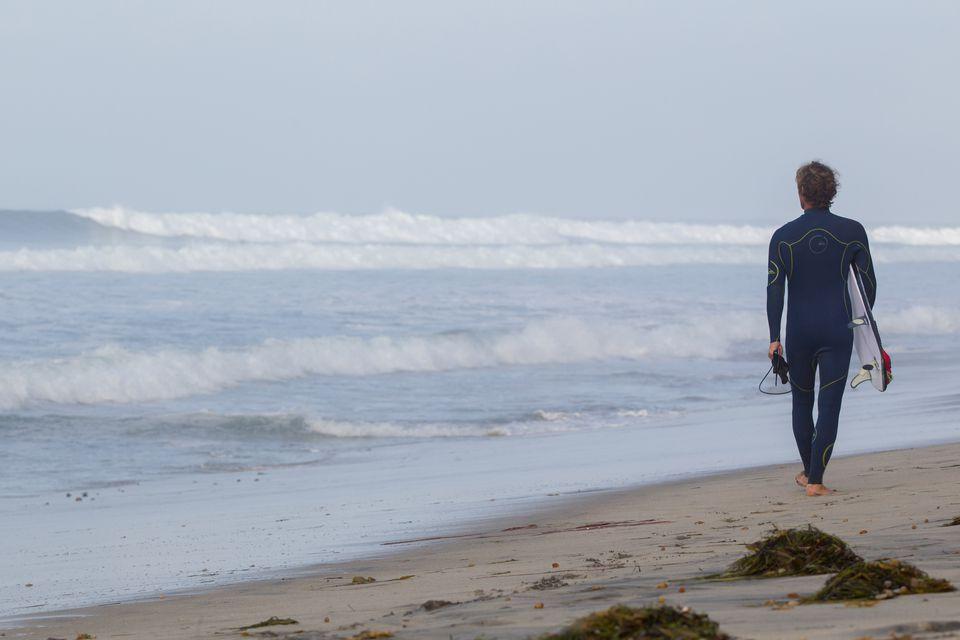 Winter on a Southern California Beach