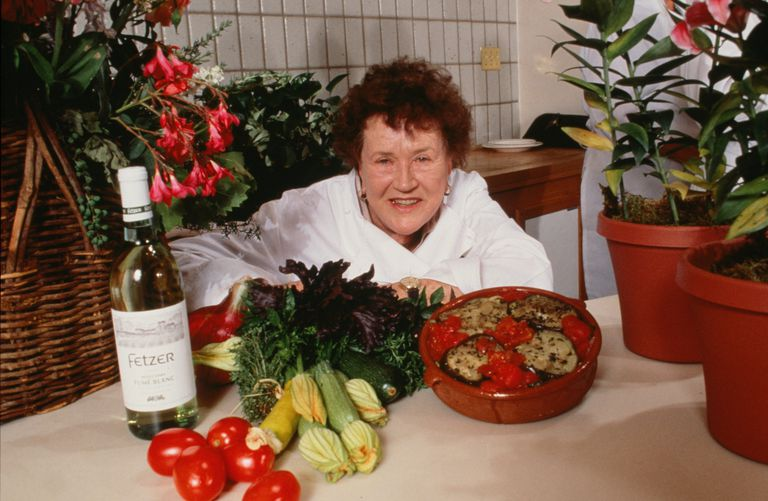 Chef Julia Child Portrait Session