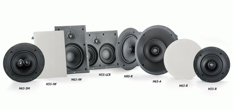 Examples of Paradigm's CI Home Series In-Wall, In-Ceiling Speakers