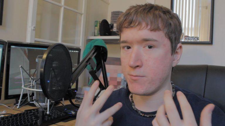 "AntVenom as seen in his video ""AntVenom - Vlog - PAX East - Twitter - Stuff""."