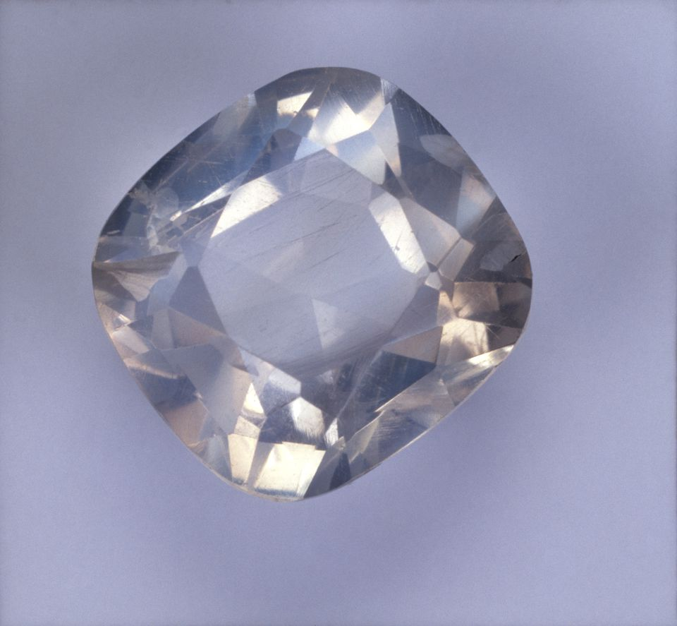 Cushion brilliant-cut Moonstone (Orthoclase)