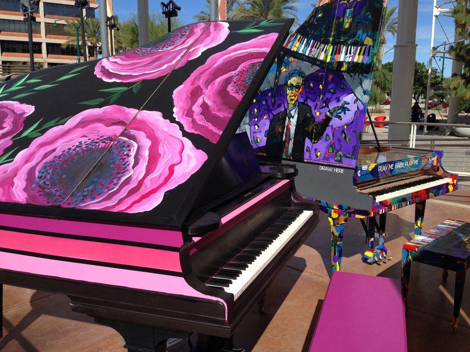 Street Pianos in Mesa, AZ