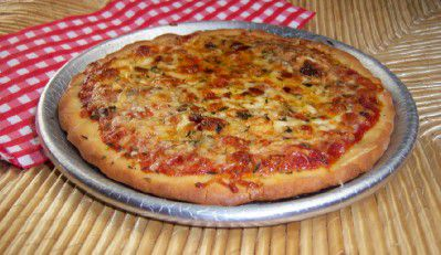 Recipe for Gluten-Free Two Cheese Pizza