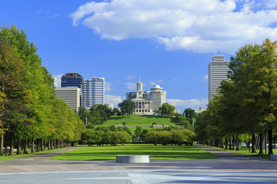 Bicentennial Capitol Mall State Park & Capitol Building