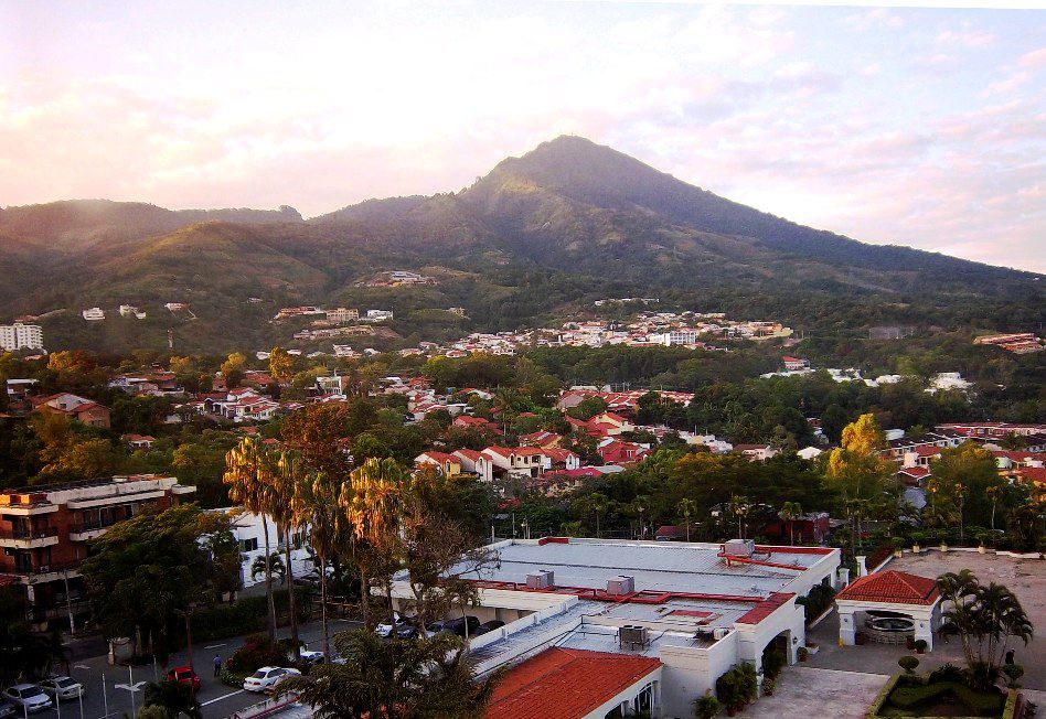 Backpacking in San Salvador