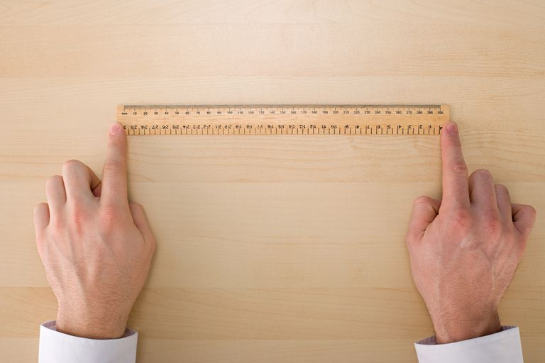 Unless you're looking at a meter stick, you need to learn how to actually calculate the centimeter to meter conversion.