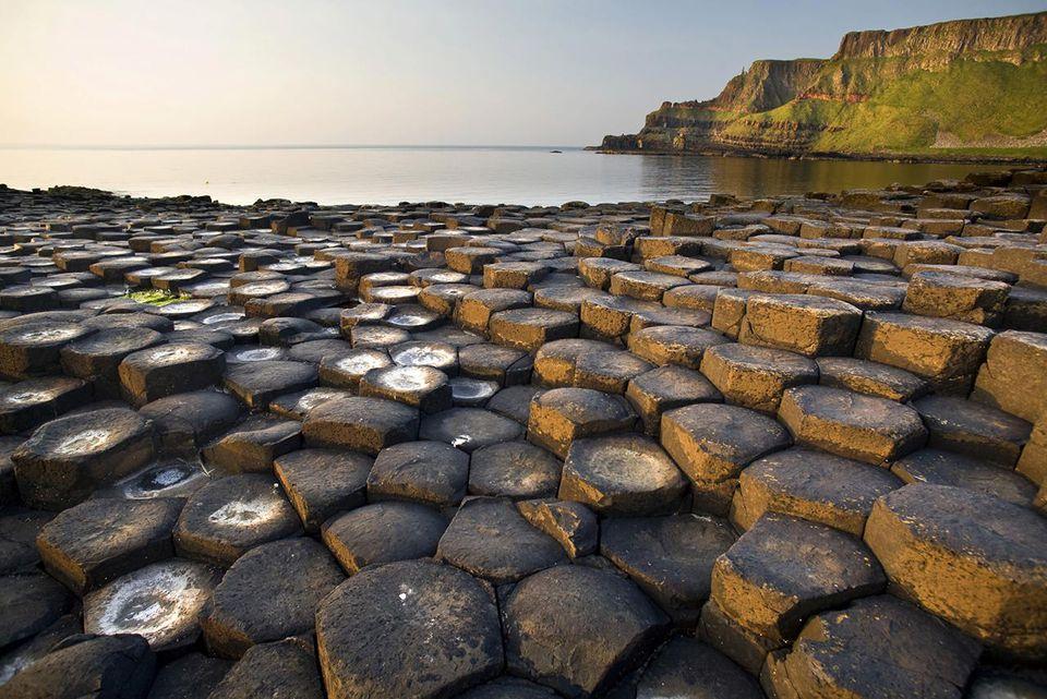 Giants Causeway basalt rocks, County Antrim, Northern Ireland, United Kingdom, Europe