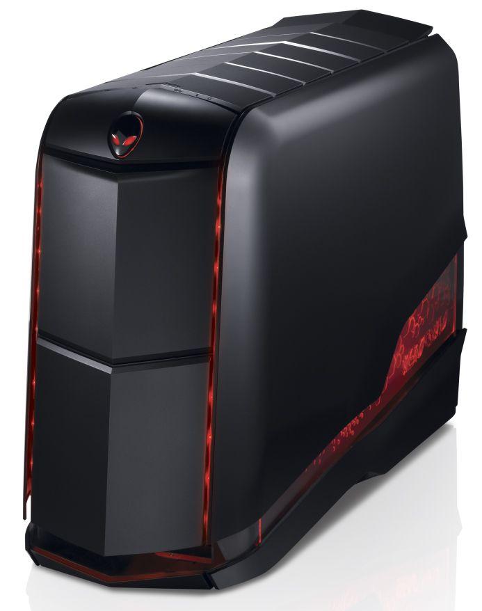 Photo of an Alienware Aurora desktop computer