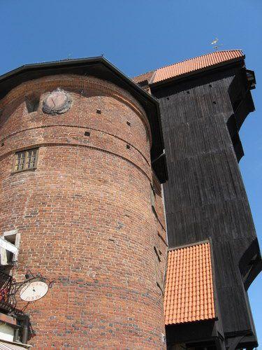 Gdansk Harbor Crane