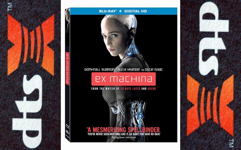 Ex Machina Blu-ray Box Art