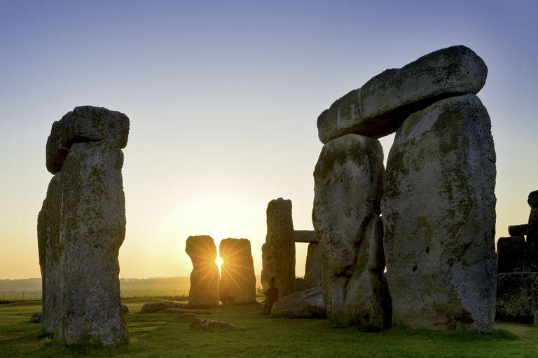 Stonehenge, near Salisbury, Great Britain