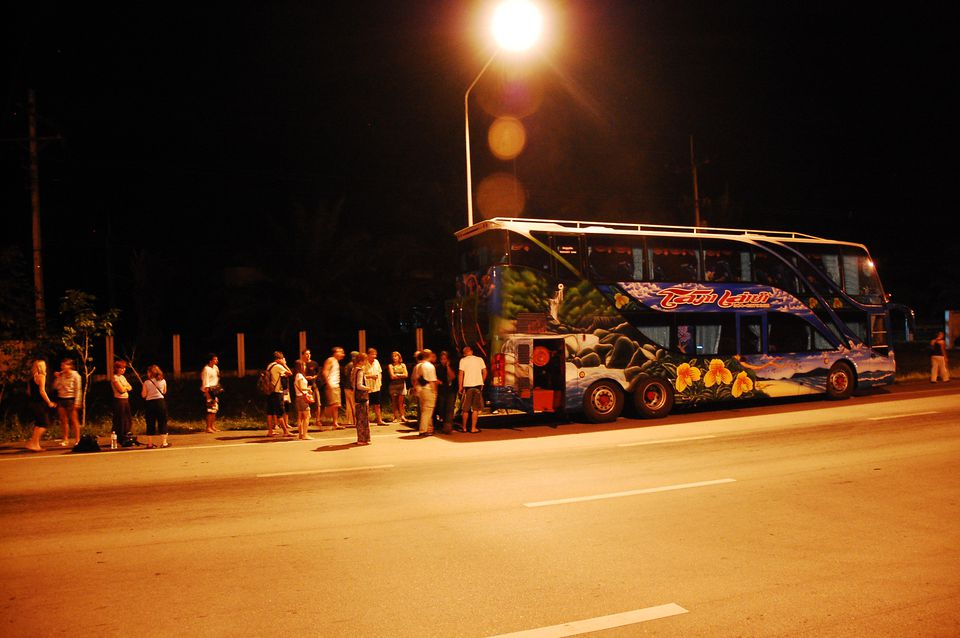 bused in Asia