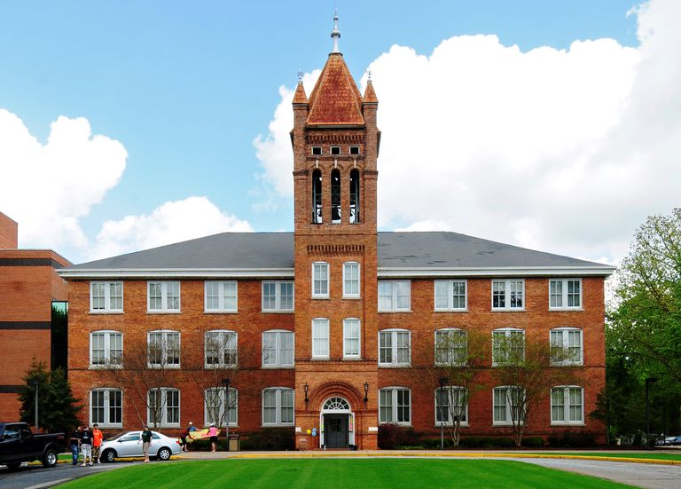 Lander University Old Main Building