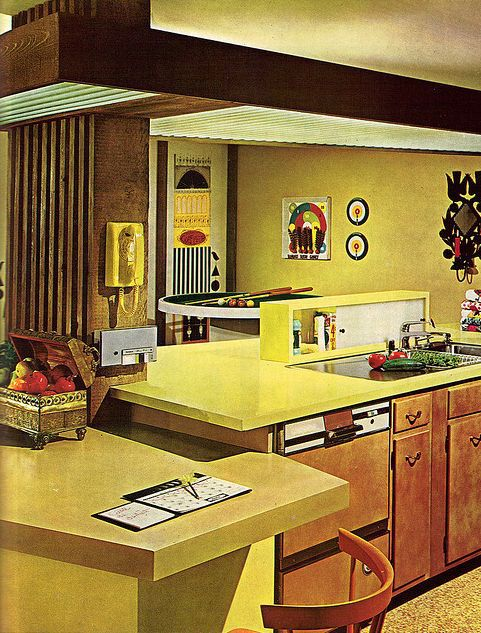 1960s Kitchens 1960s kitchens: from jet-age to funkadelic