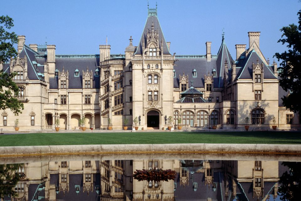 Photo of Biltmore House in Asheville, NC