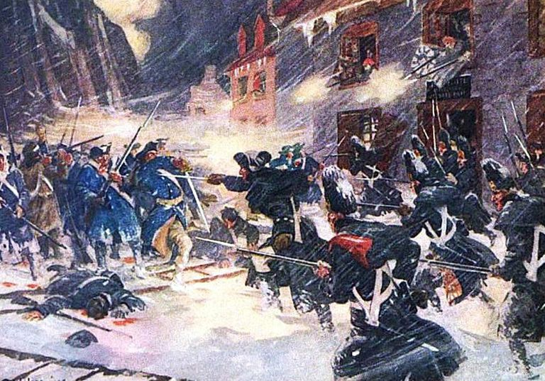 1775 Battle of Quebec
