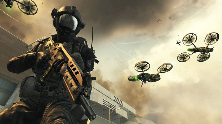 Scene from Call of Duty Black Ops 2
