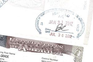 work visa and passport documents