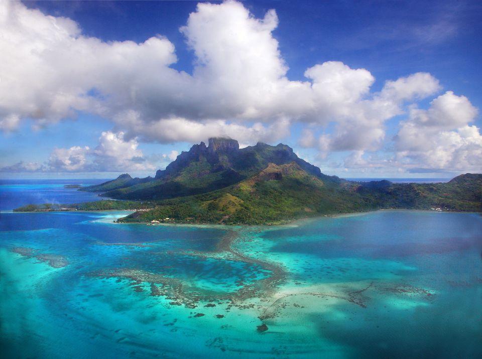 Bora Bora Island in French Polynesia