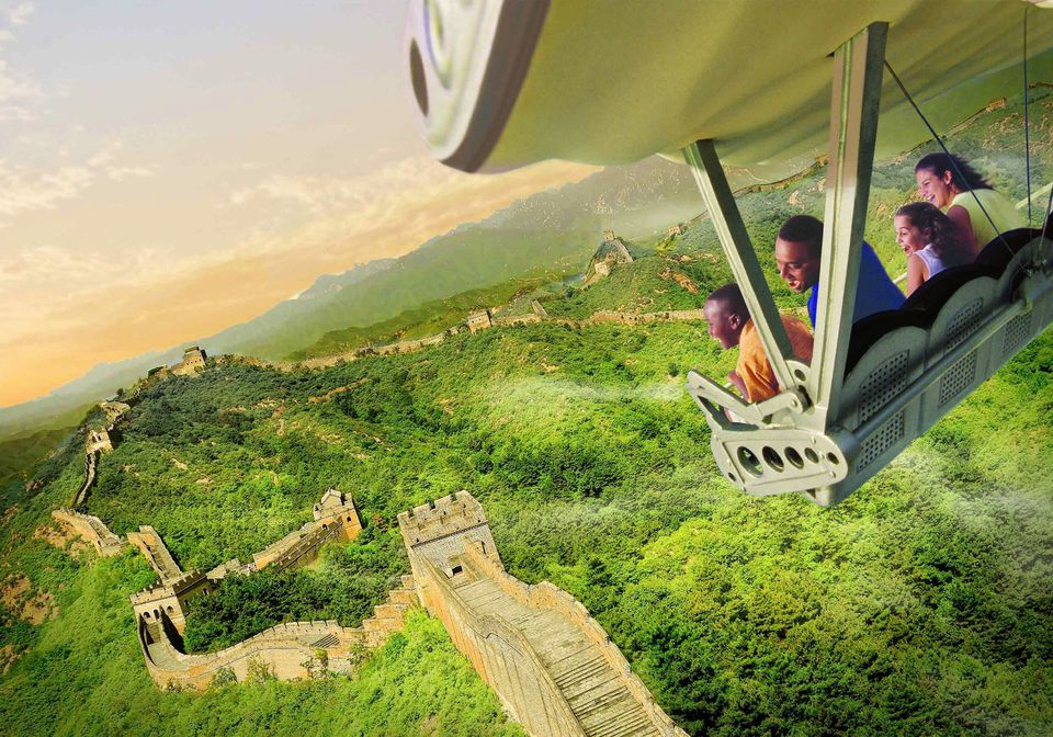 Soarin' Around the World at Disney Parks