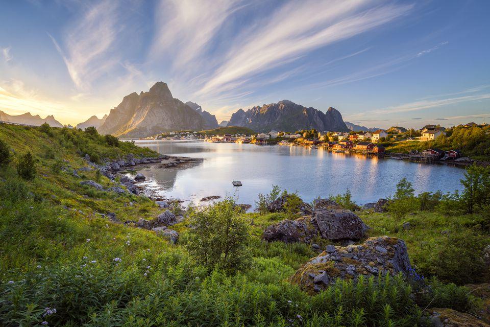 Reine - Lofoten Landscape Scenery