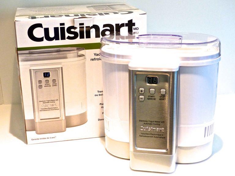 Cuisinart Yogurt maker on counter