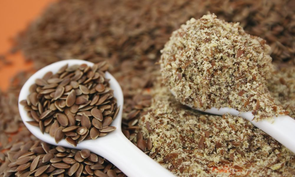 Flax Seeds and Flax Seed Meal