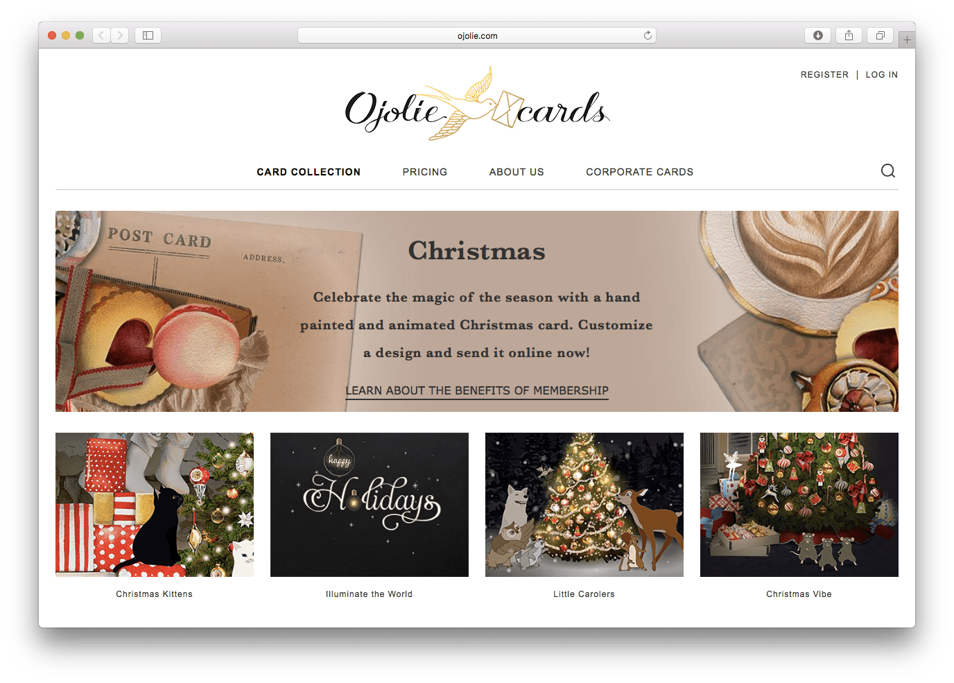 The Best Christmas E-Card Sites