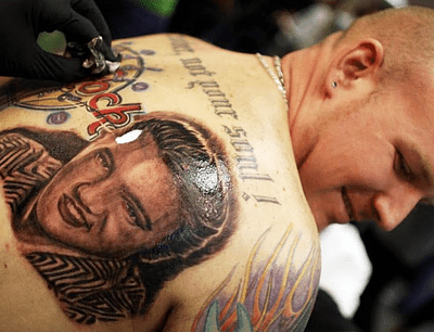 Tatuajes Extremos 10 famosos con tatuajes
