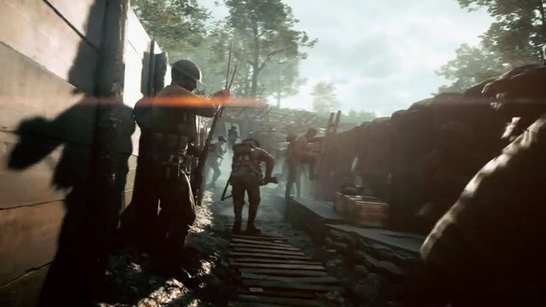 Battlefield 1 trenches