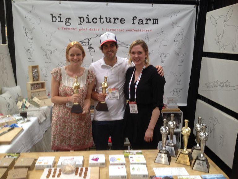 Big Picture Farm team with their sofi awards