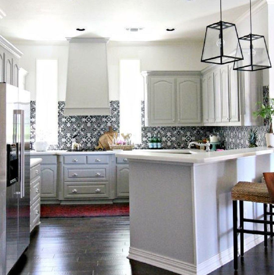kitchen design photos before and after. After  Bold Statement Hi Sugar Plum Kitchen Before Amazing Remodels