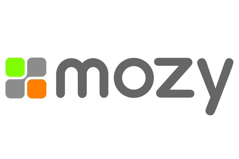 Screenshot of the Mozy logo