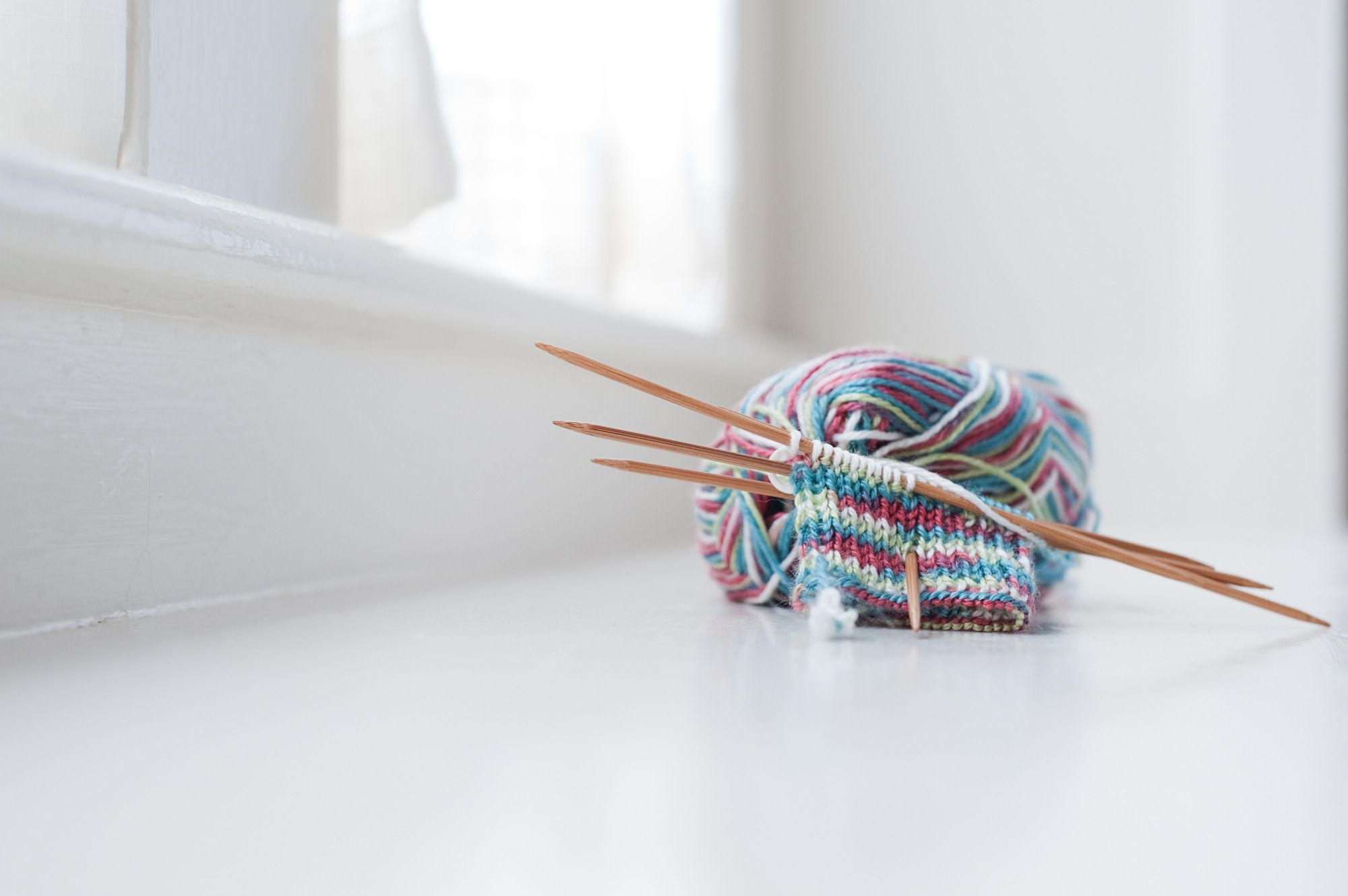 Knitting On The Round Double Pointed Needles : How to knit with double pointed needles
