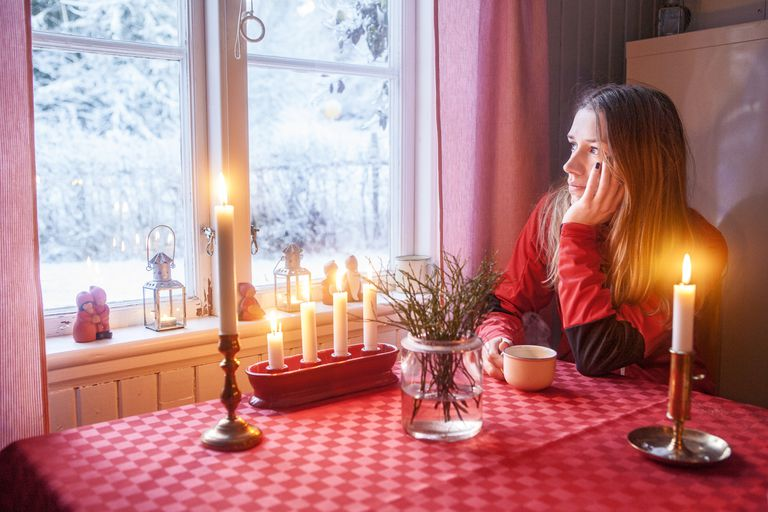 Being alone at Christmas may result from having social anxiety.