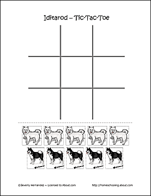 iditarod coloring pages for kid - photo#24