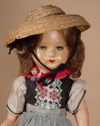 Celluloid Doll from Germany